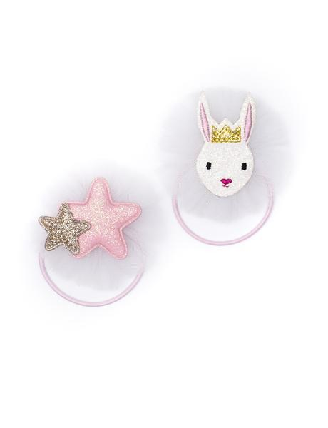 ballet bunny and star elastic duo