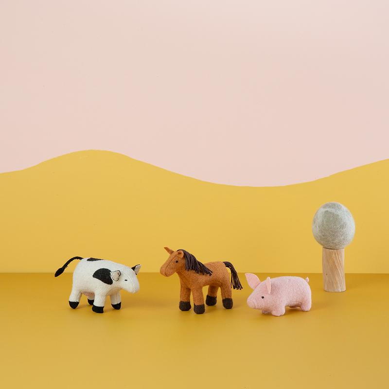 Holdie Farm Animals - Olli Ella