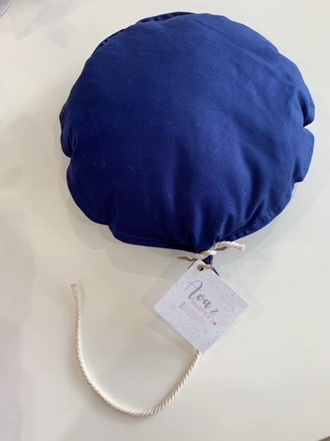 Fabric Balloon 30cm - Royal Blue - Wall Decor - Ava & Harper Co