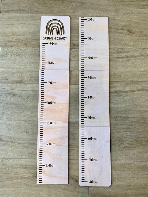 Growth Chart- Lion - Wooden Decor- Timber Tinkers