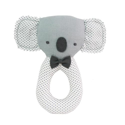 Koala Grab Rattle - Grey - Alimrose