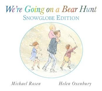 We're Going on a Bear Hunt - Snowglobe Gift Book'  - Kids Book