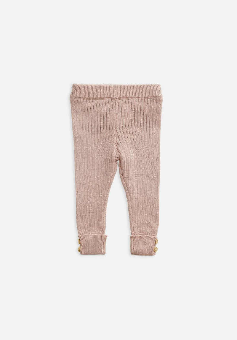 Texture Ribbed Legging - Evening Sand - Miann & Co