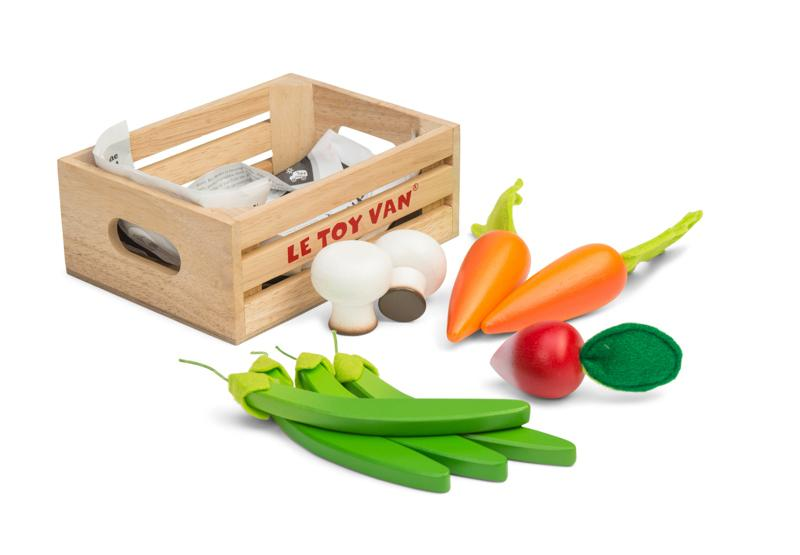 Vegetables 5 a day Crate - Honeybake- Le Toy Van