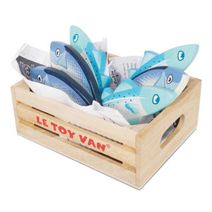 Fresh Fish Crate- Honeybake - Le Toy Van