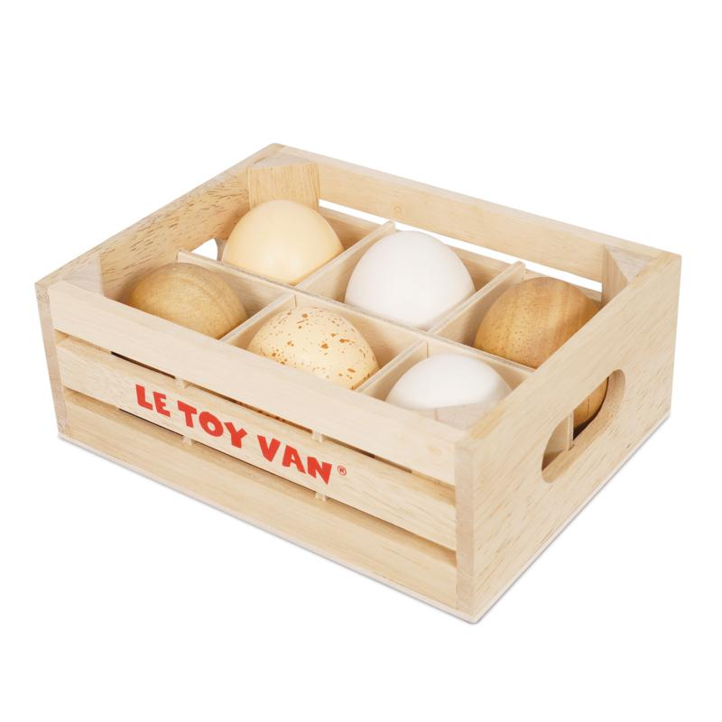 Farm Fresh Eggs Crate- Honeybake - Le Toy Van