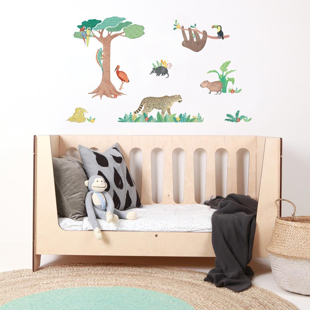 Fabric Wall Decals- Amazon Jungle - Love Mae - Wall Sticker