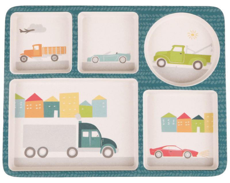 Bamboo 5pc set - Cars- Love Mae