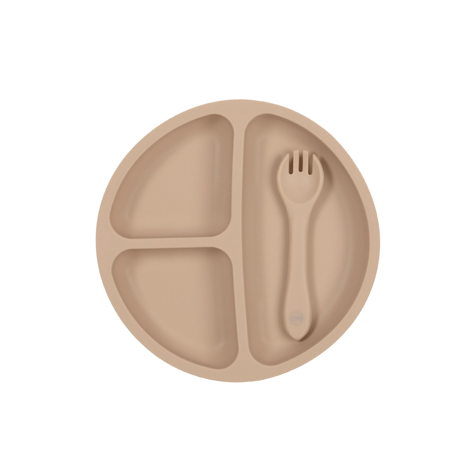 Muted - Suction Plate & Spoon Set - My Little Giggles