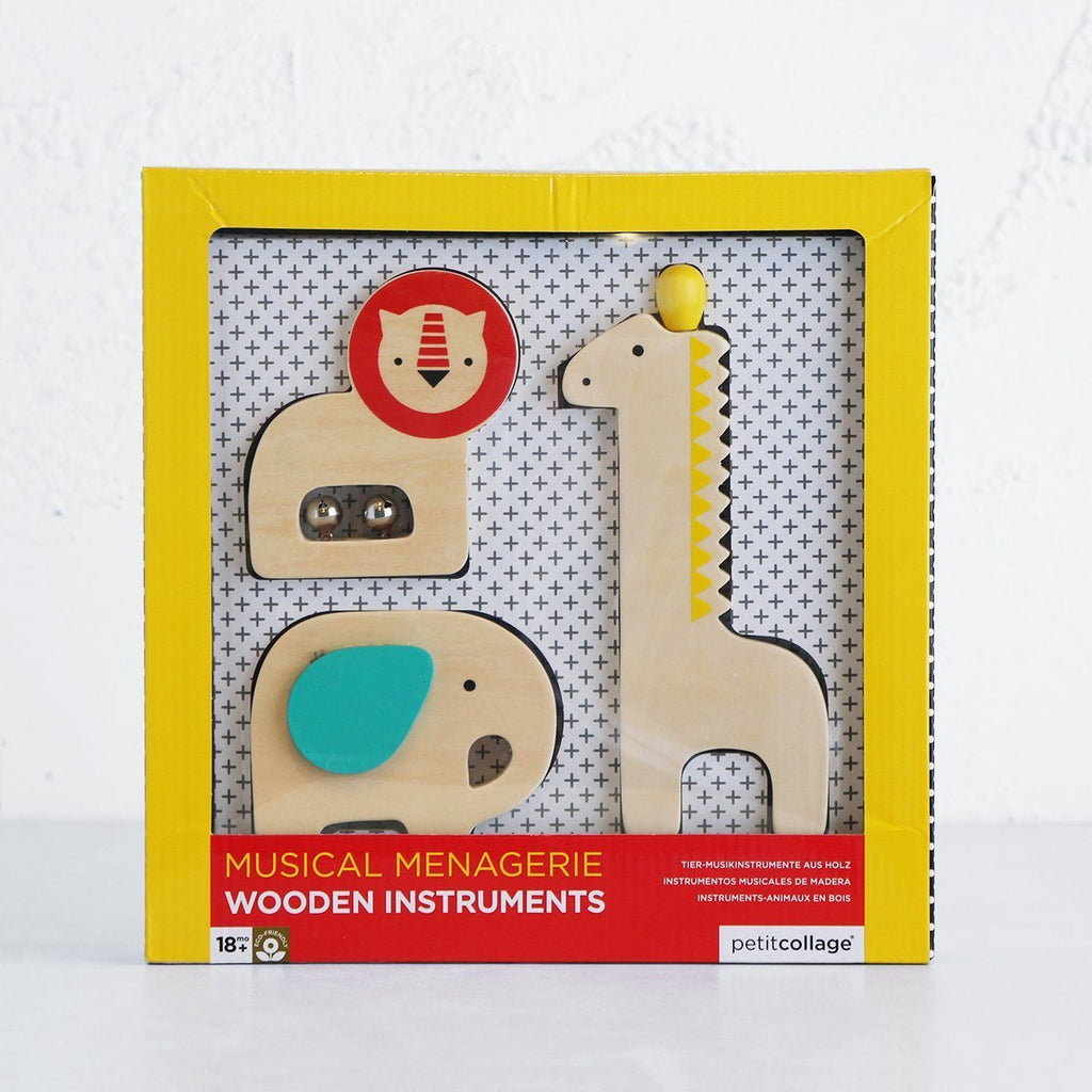 Musical Menagerie Wooden Instruments - Petit College