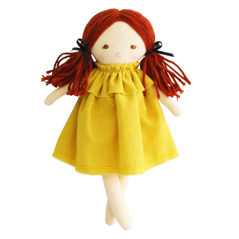 Mini Matilda 24cm Butterscotch Doll - Alimrose
