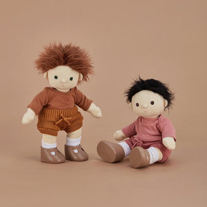 Snuggly Set - Toffee - Doll's Clothing - Olli Ella