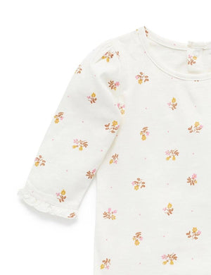Tiny Flowers Print Top - Pure Baby