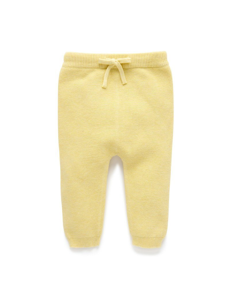 Knit Leggings - Chenille - Pure Baby