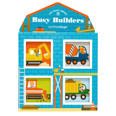 Busy Builders Mini Library - Petit College