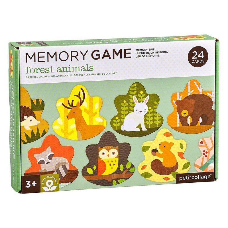 Forest Animals Memory Game - Petit College
