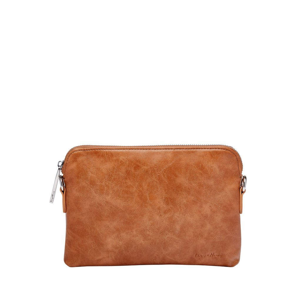 Nappy Clutch - Tan - Livvy and Harry