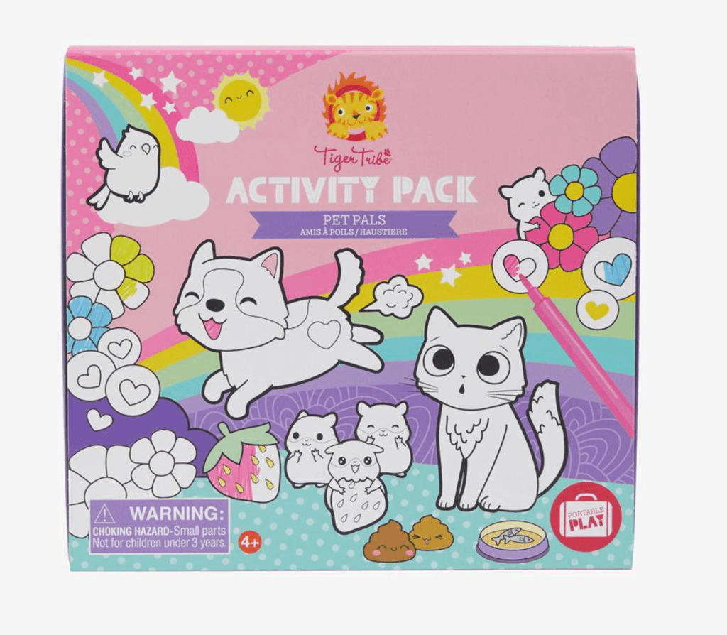 Activity Pack- Pet pals - Tiger Tribe