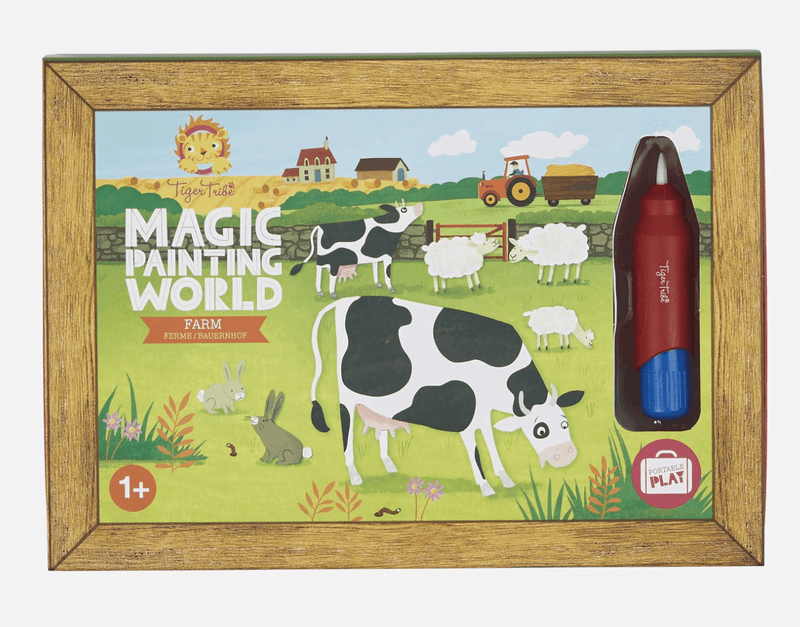 Magic Painting World- Farm - Tiger Tribe