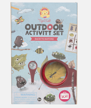 Outdoor Activity Set- Back to Nature - Tiger Tribe