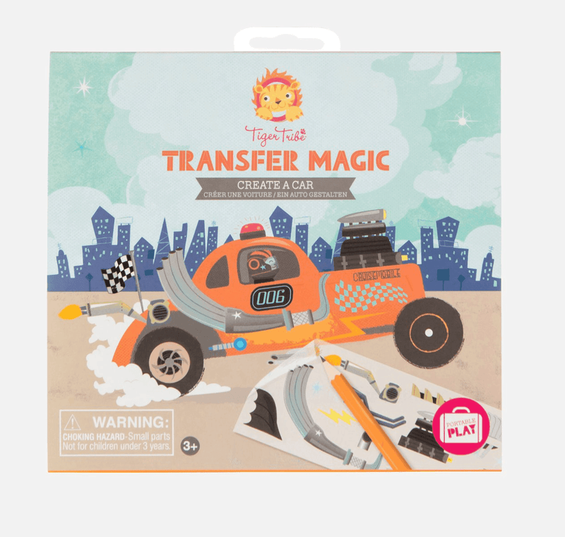 Transfer Magic- Create a Car - Tiger Tribe