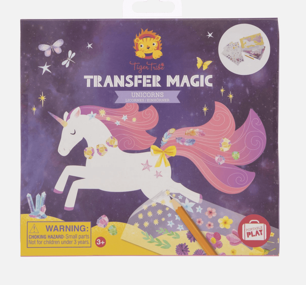 Transfer Magic- Unicorns - Tiger Tribe