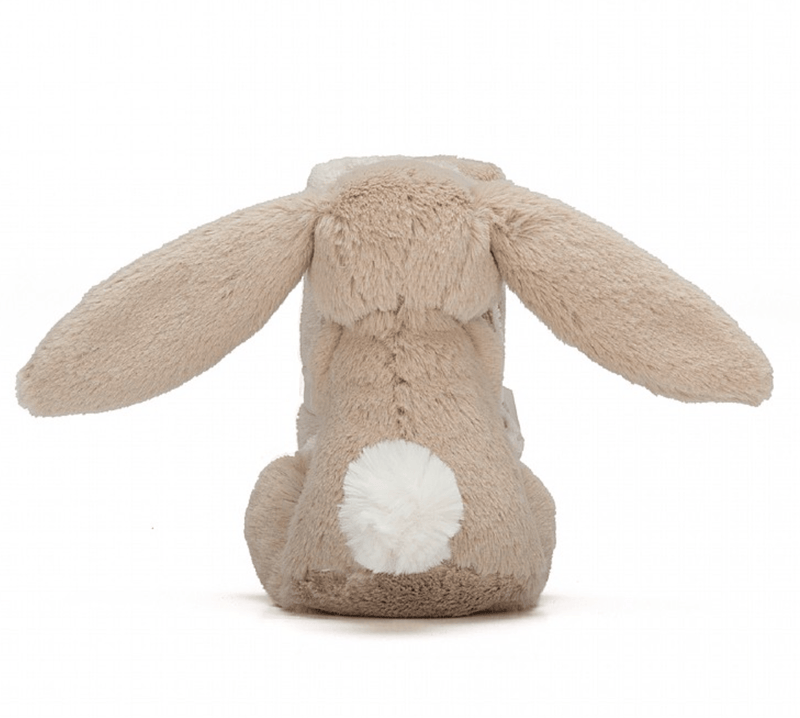 Bashful Beige Bunny Soother Comforter - Jellycat