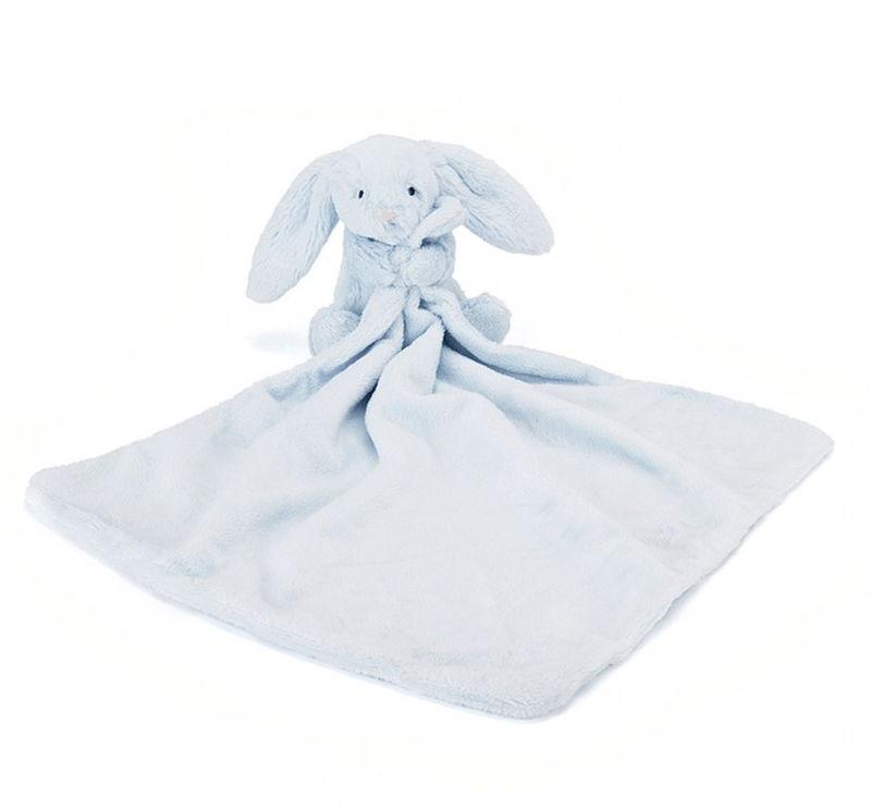 Bashful Blue Bunny Soother Comforter - Jellycat