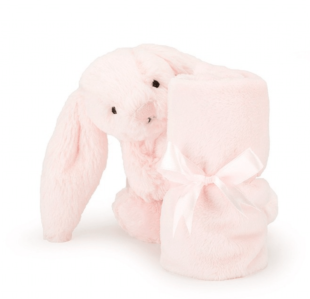 Bashful Pink Bunny Soother Comforter - Jellycat