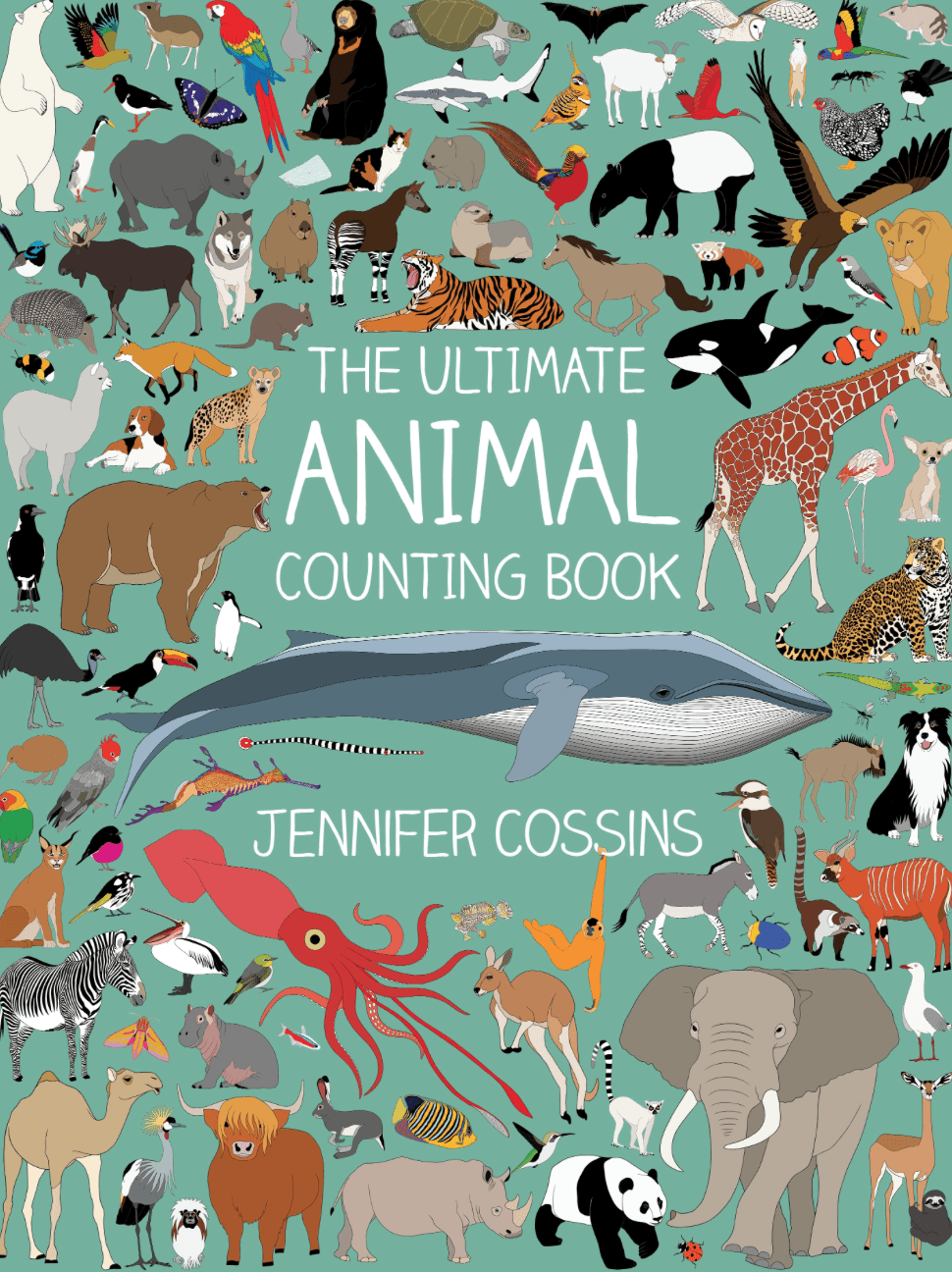 Kids Book- The Ultimate Animal Counting book