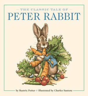 Kids Book - Peter Rabbit Padded Board Book