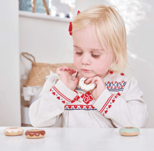 Wooden Doughnut Set- Le Toy Van