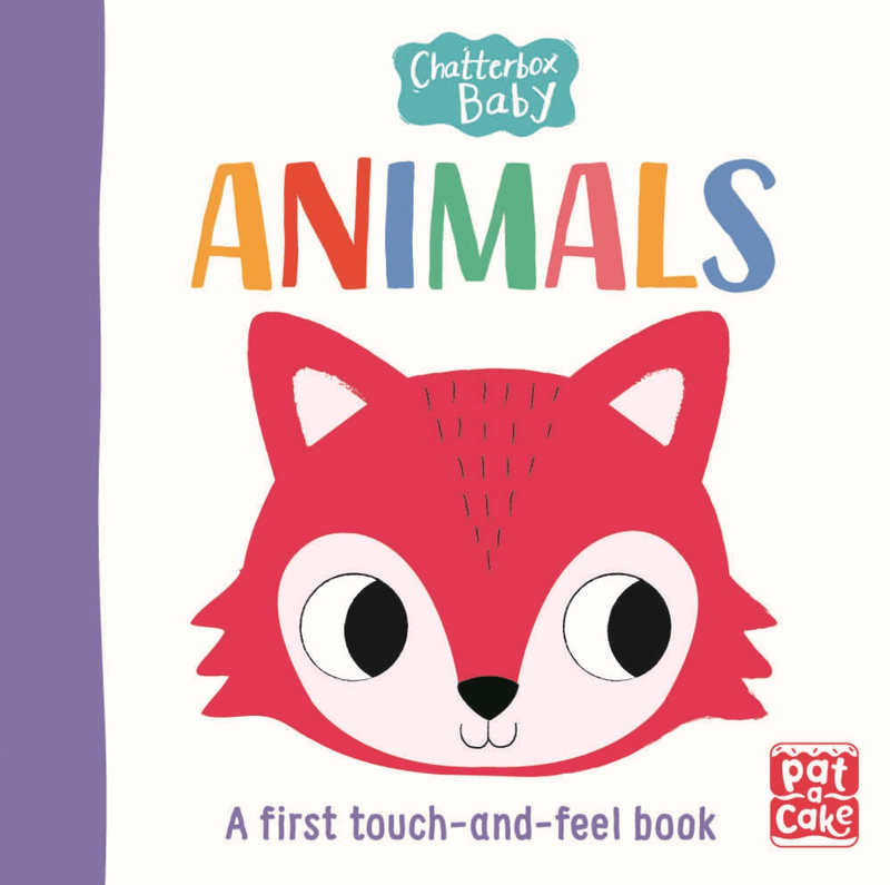 Animals - A first touch and feel book - Kids Book