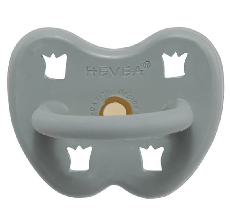 Dummy Pacifier- Orthodontic- Gorgeous Grey- 3-36 months- Hevea