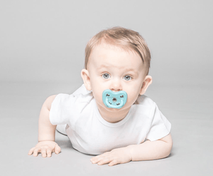 Dummy Pacifier- Orthodontic- Moss Green- 3-36 months- Hevea