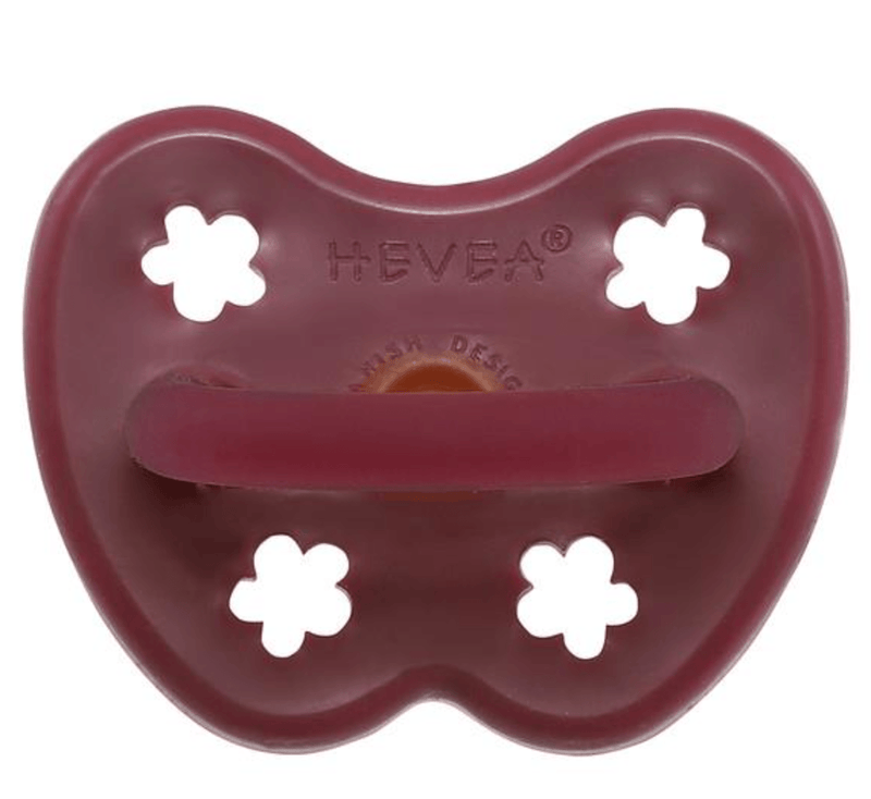 Dummy Pacifier- Orthodontic- Ruby- 3-36 months- Hevea