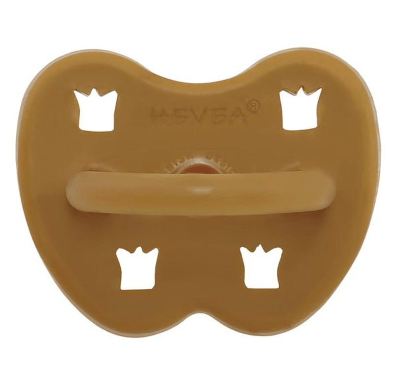 Dummy Pacifier- Orthodontic- Tumeric- 3-36 months- Hevea