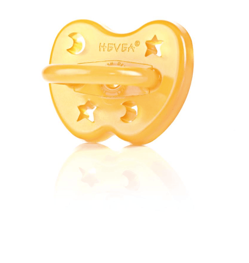 Dummy Pacifier- Orthodontic- Natural Star & Moon- 3-36 months- Hevea