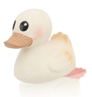 Kawan Natural Rubber Duck- White Natural Large- Hevea DISCOUNTED