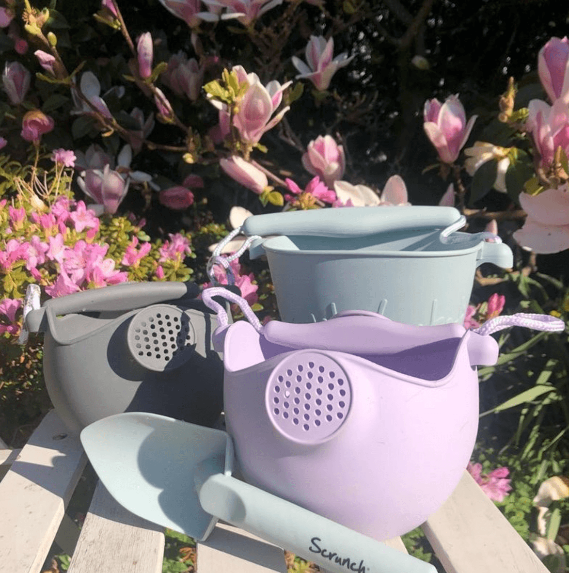 Scrunch Watering Can - Dusty Rose - Scrunch