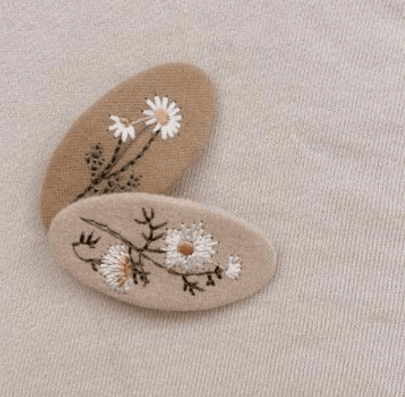 Embroidery Clip Set - Mae & Rae