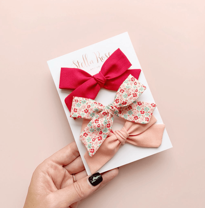 Tilli Bow Headband Set - Stella Rose & Co