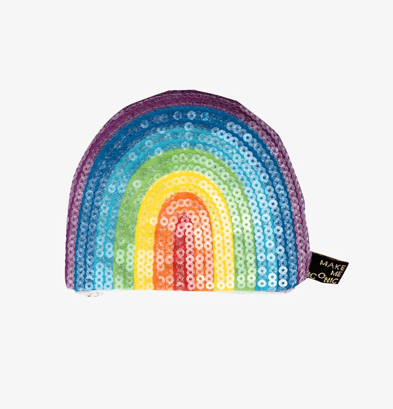 Sequin Purse - Rainbow - Make me iconic DISCOUNTED