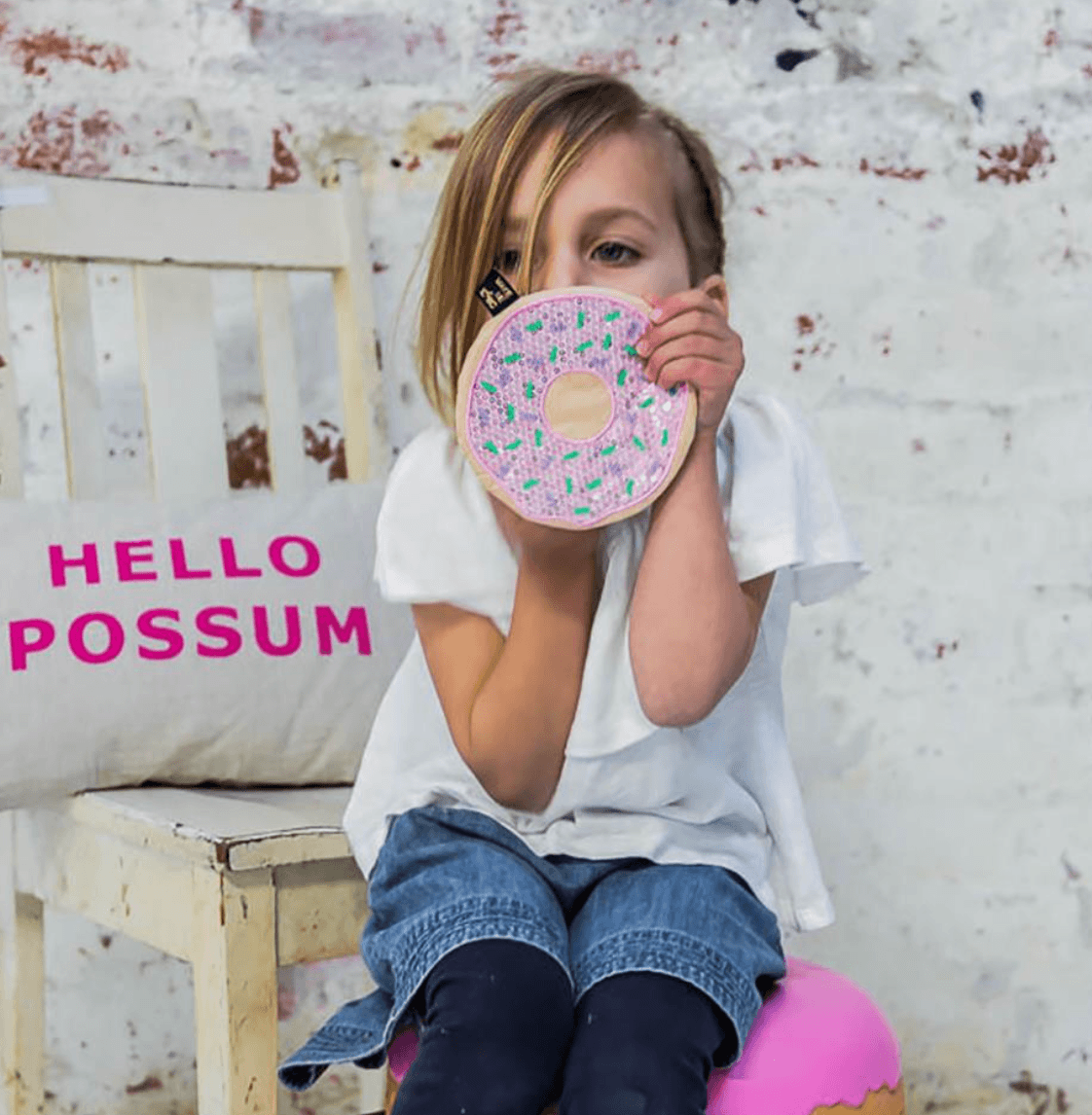 Sequin Purse - Donut - Make me iconic DISCOUNTED