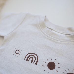 Sunny Days Print Tee  - Aster & Oak DISCOUNTED