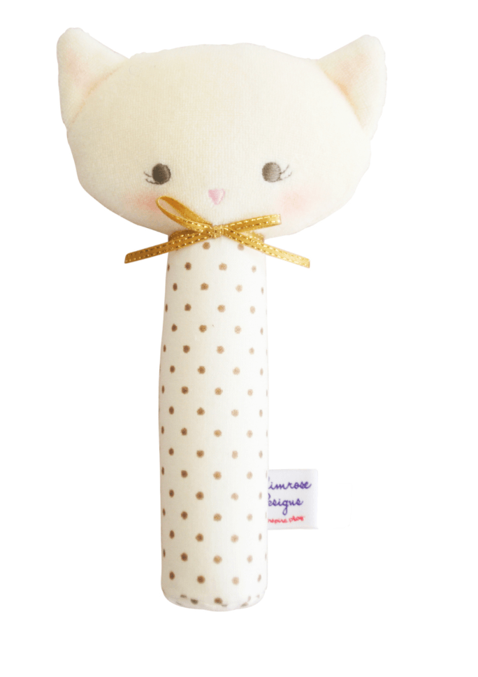 Kitty Squeaker - Gold -  Alimrose