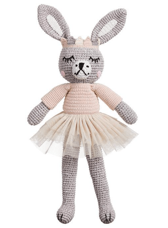 Sylvie Ballerina Bunny- Large soft toy - Miann & Co