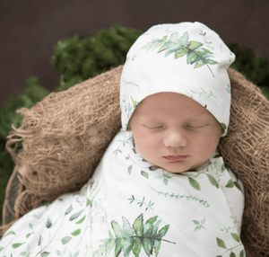 Enchanted- Jersey Wrap & Beanie Set - Snuggle Hunny Kids