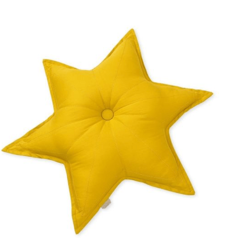 Star Cushion - Mustard- CAM CAM