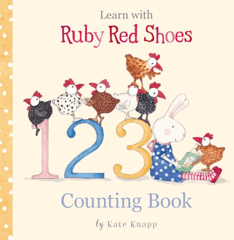 Kids Book - 'Ruby Red Shoes 123 Counting'